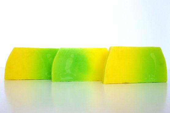 Jabón artesanal de Melón