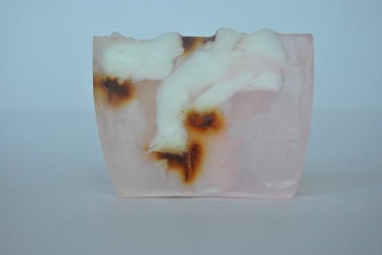 Jabón artesanal de Rosa Blanca