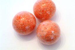 Bola de baño efervescente de fresa de Sabó de Barcelona