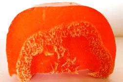 Jabón exfoliante de Naranja de Sabó de Barcelona
